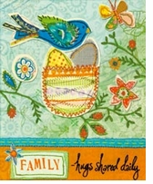 Handmade Refresh Family Fabric Applique Embroidery Kit