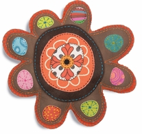 Handmade Stuffable Flower Embroidery Kit