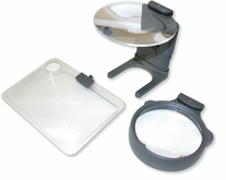 Hands-Free Hobby Magnifier With Neck Cord