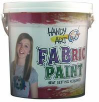 Handy Art Fabric Paint Kit
