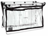Handy Caddy Clear with Black Trim