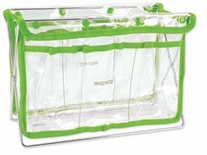 Handy Caddy Clear with Key Lime Trim