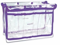 Handy Caddy Clear with Purple Trim