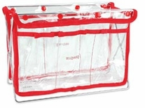 Handy Caddy Clear With Red Trim