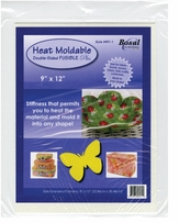 Heat Moldable Double-Sided Fusible Plus White