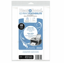 Heat'n Bond EZ-Print Featherlite Iron-On Adhesive White