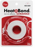 Heatn Bond Fusible Web Tape No Sew 3/8in