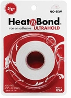 Heatn Bond Fusible Web Tape No Sew