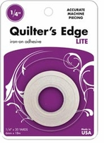 Heatn Bond Lite Quilter's Edge Tape 1/4in Sewable