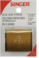 Heavy Duty Denim Jean Thread 150 Yards Old Gold