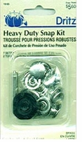 Heavy Duty Snap Kit Nickel 5/8in 7/Pkg