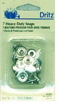 Heavy Duty Snaps Nickel 5/8in