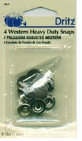 Heavy Duty Western Snaps West Cal 45 9/16in