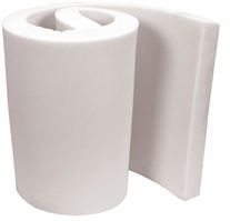 High Density Urethane Foam 1in White