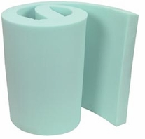 High Density Urethane Foam 4in White