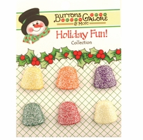 Holiday Buttons Gumdrops