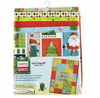 Holiday Simple Quilt Contemporary