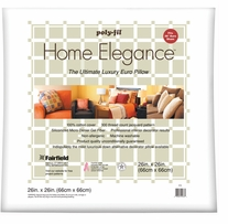 Home Elegance Pillow 26inX26in White
