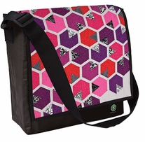 Honey Quilt Eco Messenger Bag