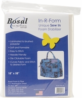 In-R-Form Unique Sew In Foam Stabilizer White - Click to enlarge