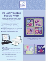Ink Jet Printable Fusible Web