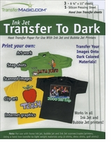 Ink Jet Transfer Paper For Dark Fabric Three