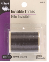 Invisible Thread 150 Yards Smoke #13