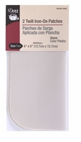 Iron-On Patches Stone Twill