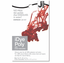 Jacquard iDye Fabric Dye Crimson 14 Grams