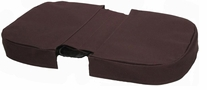 JanetBasket Brown Large Basket Cover Brown