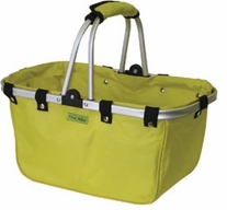 JanetBasket Lemon Large Aluminum Frame Bag