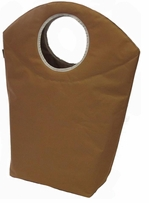 JanetBasket Walnut Laundry Mate