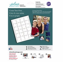 Jolee's Easy Image Transfer Sheets Puzzle 8.5inx11in