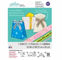 Jolee's Easy Image Transfer Sheets Ribbon 8.5inx11in