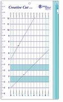 June Tailor Rulers Creative Cut Ruler 10inX17in