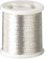 Kantan Couture Bead Embroidery Thread Silver