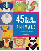 Lark Books 45 Quilt Blocks Animals