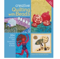 Lark Books Creative Quilting With Beads