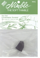 Leather Nimble Thimble with Metal Tip Small