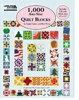 Leisure Arts 1,000 Any-Size Quilt Blocks