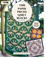 Leisure Arts 100 Paper Pieced Quilt Blocks