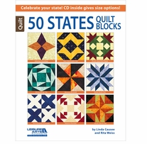 Leisure Arts 50 States Quilt Blocks