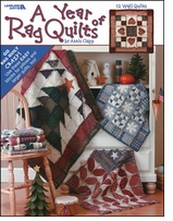 Leisure Arts A Year Of Rag Quilts