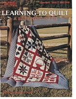 Leisure Arts Learning To Quilt: A Beginner's Guide