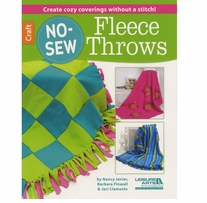Leisure Arts No Sew Fleece Throws