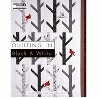 Leisure Arts Quilting In Black & White