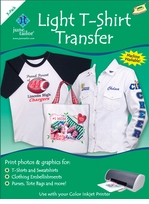 Light Tee Shirt Transfer Paper For Ink Jet Printers