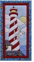 Lighthouse Quilt Magic Kit 10inx19in