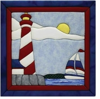 Lighthouse Quilt Magic Kit 12inx12in