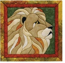 Lion Quilt Magic Kit